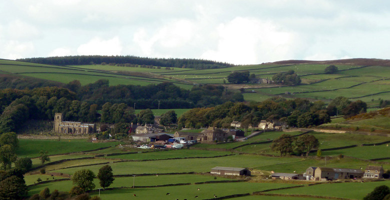 High Bradfield from Dungworth